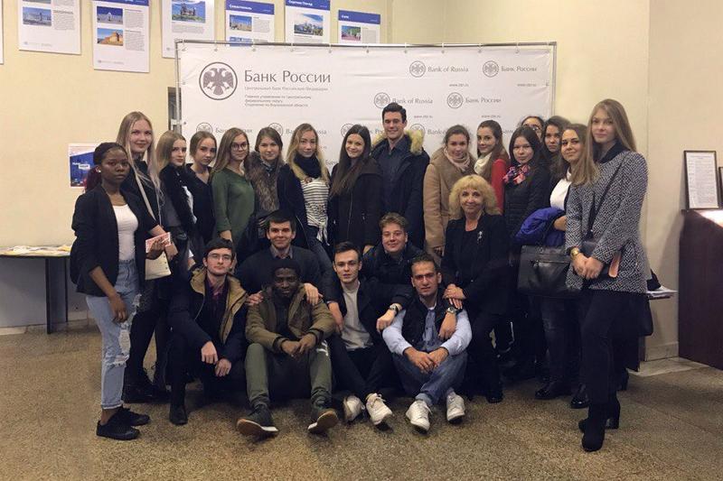 Студенты-экономисты познакомились с особенностями работы главного банка страны