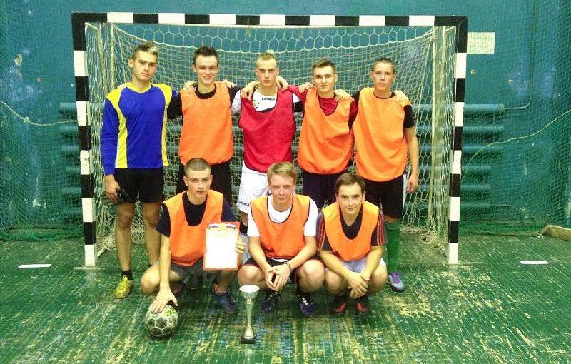Команда экономического факультета ВГУ выиграла Кубок первокурсника по мини-футболу