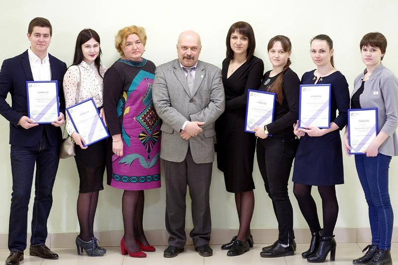 В ВГУ наградили студентов-победителей конкурса «Лучший студенческий проект»