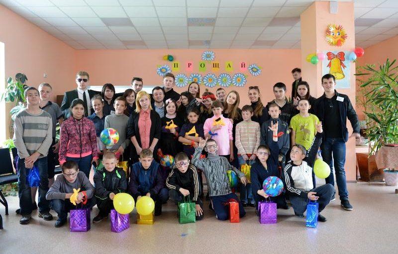 Студенты экономического факультета ВГУ помогли детям «спасти мир»