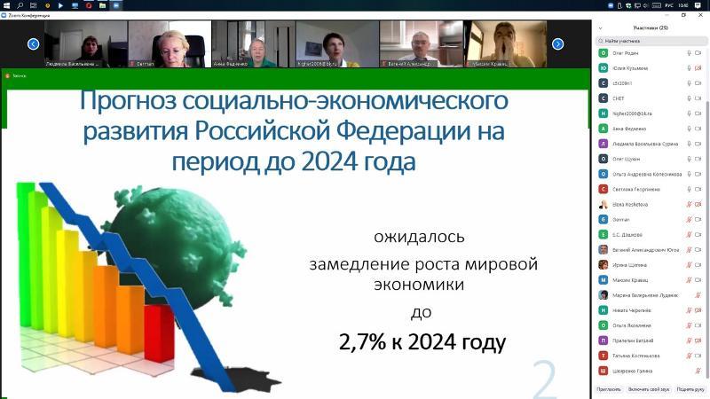 На экономическом факультете ВГУ обсудили доминанты экономики и управления