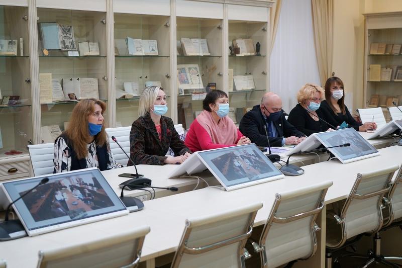 Экономический факультет ВГУ провел телемост с коллегами из Севастополя