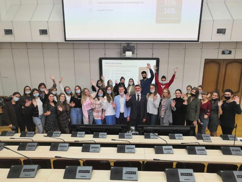 Встреча сотрудников ПАО «Сбербанк» и студентов экономического факультета ВГУ